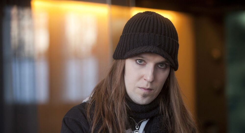 Alexi Laiho, a singer and guitarist of Finnish black metal band Children of Bodom, is seen in March 3, 2011 image. Picture taken March 3, 2011.