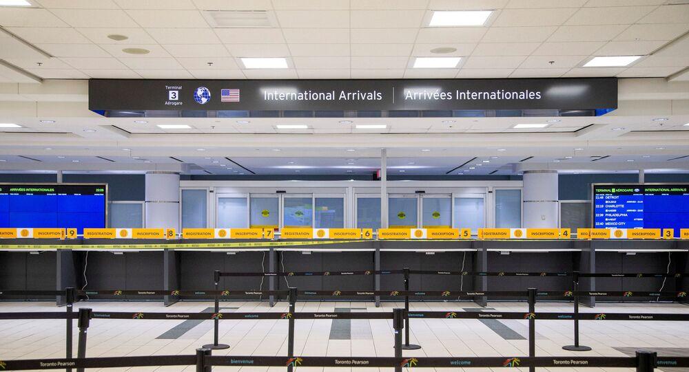 An empty terminal 3, amid a spike in coronavirus disease (COVID-19) cases, at Pearson airport near Toronto, Ontario, Canada December 30, 2020.