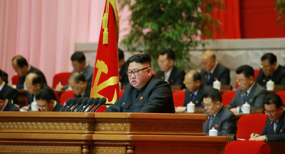 Kim reveals plan to strengthen North's ties with outside world