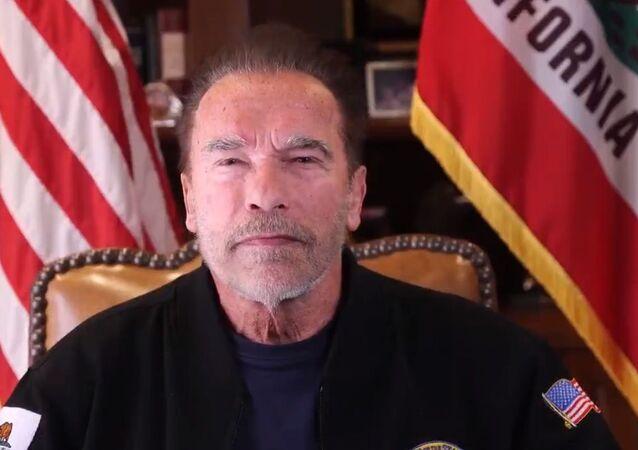 Arnold Schwarzenegger speaking on US Capitol siege on January 10, 2020