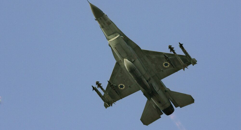 In this Sunday, 16 July 2006 file photo, an Israeli F-16 warplane takes off for a mission in Lebanon from an air force base in northern Israel.