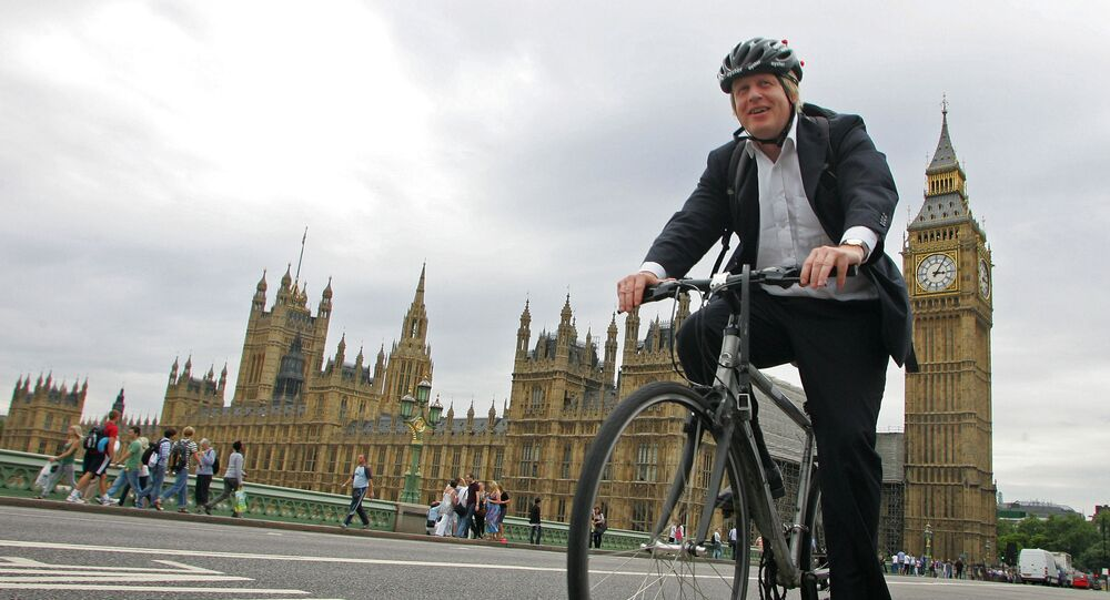 Boris Johnson spotted cycling seven miles from home after Covid restrictions announced