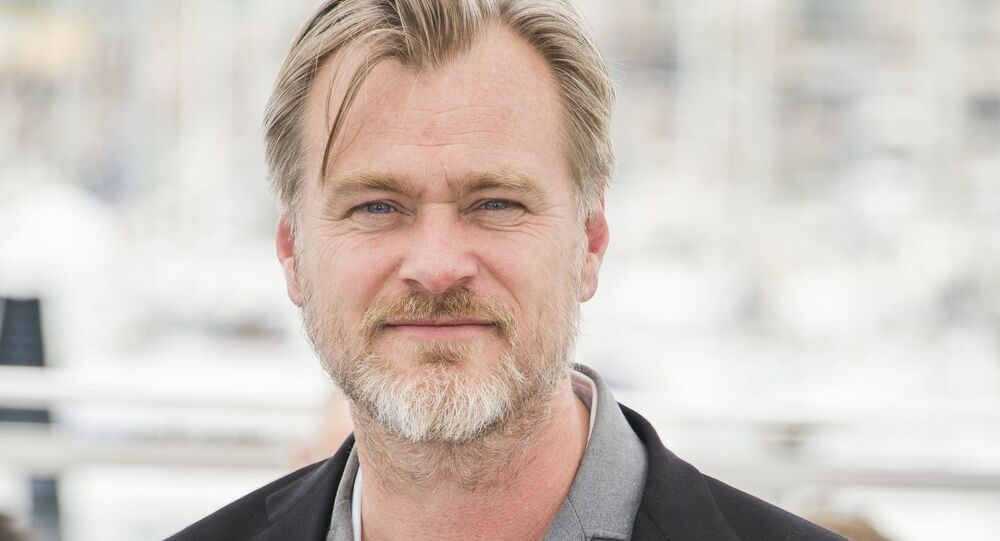 Director Christopher Nolan poses during a photo call at the 71st international film festival, Cannes, southern France, Saturday, May 12, 2018.