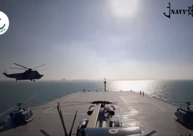 Makran helicopter carrier