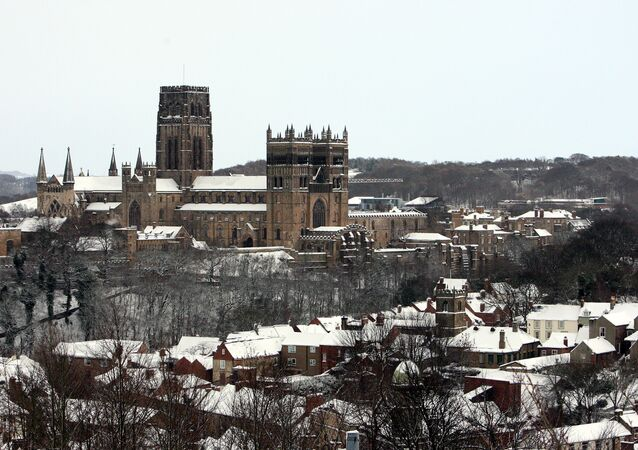 A general view of Durham Cathedral  in Durham, England, Wednesday, Dec. 1, 2010