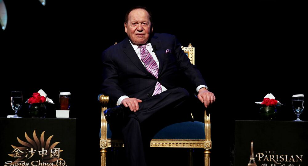 Sheldon Adelson, casino mogul and GOP power broker, dies