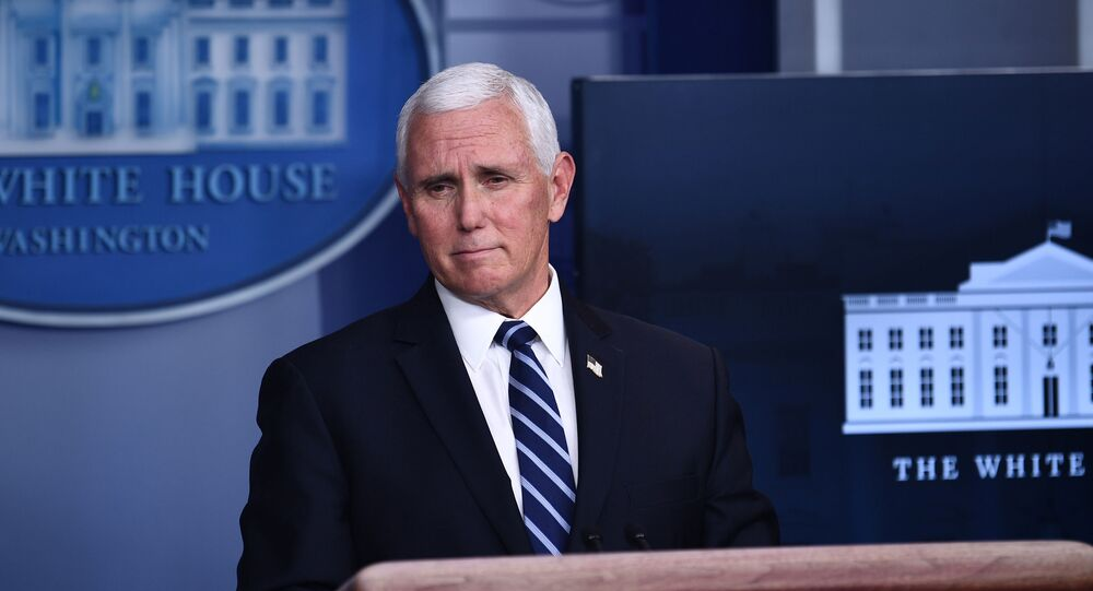In this file photo taken on November 19, 2020 Vice President Mike Pence speaks during a White House Coronavirus Task Force press briefing in the James S. Brady Briefing Room of the White House. - US Vice President Mike Pence on January 12, 2021, told House leaders he does not support invoking the 25th Amendment process to remove Donald Trump, all but guaranteeing an imminent impeachment vote against the president. (Photo by Brendan Smialowski / AFP)