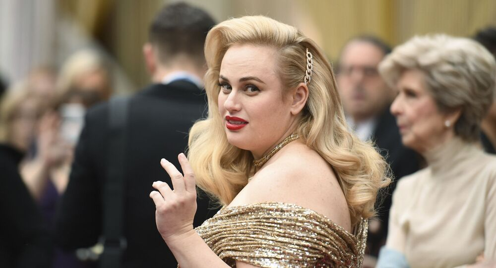 Rebel Wilson arrives at the Oscars on Sunday, 9 February 2020