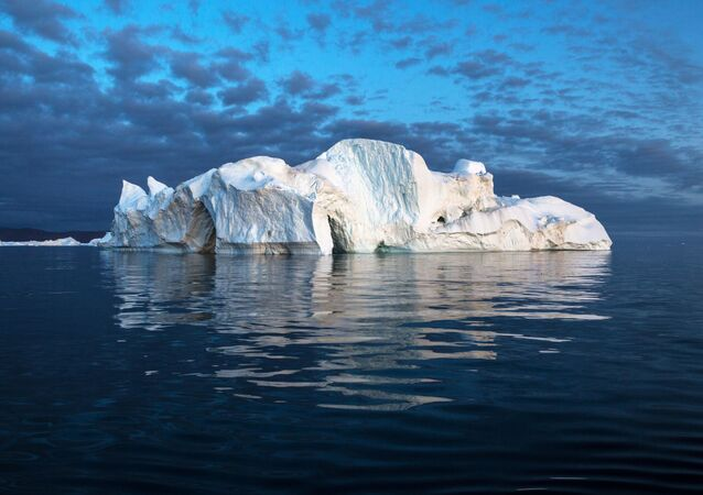 Iceberg in the waters of Greenland