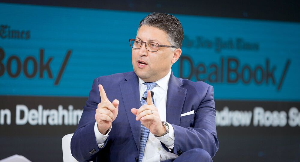 Makan Delrahim, Assistant Attorney General, Antitrust Division, U.S. Department of Justice speaks onstage at 2019 New York Times Dealbook on November 06, 2019 in New York City.