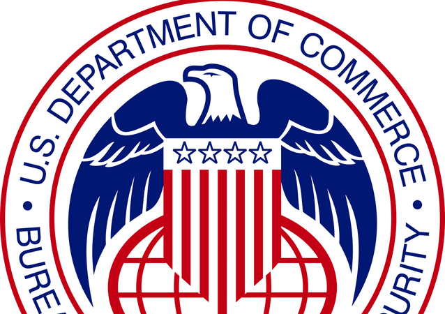 Seal of the United States Bureau of Industry and Security, a part of the Department of Commerce
