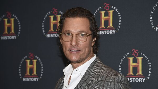 Actor Matthew McConaughey attends A+E Network's HISTORYTalks: Leadership and Legacy at Carnegie Hall on Saturday, 29 February 2020, in New York - Sputnik International
