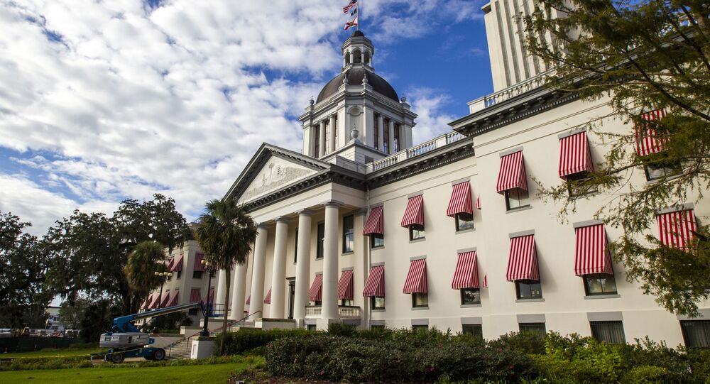The historic Old Florida State Capitol Building