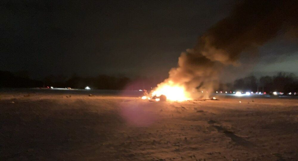 Military helicopter crashes in Mendon, New York on January 20, 2020