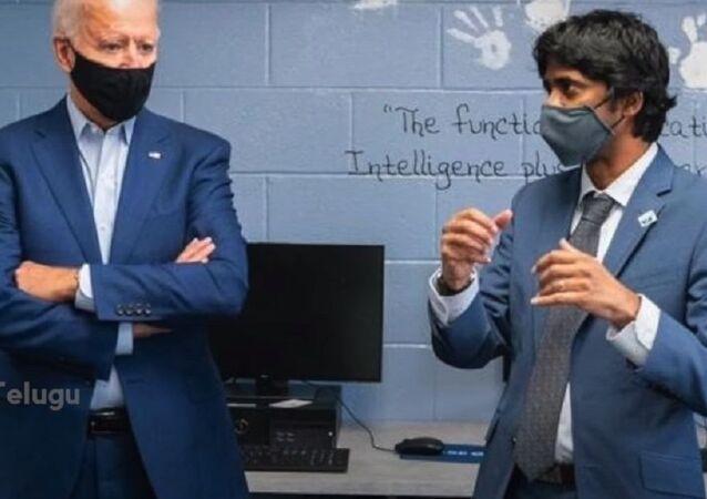 Vinay Reddy of Telangana in Joe Biden's team