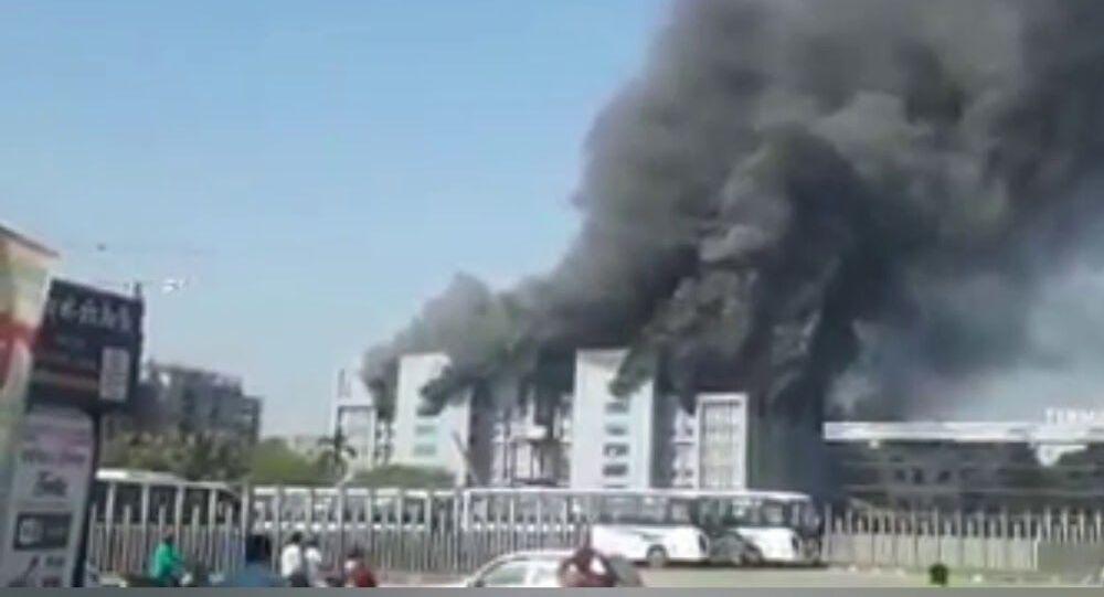 Major fire at Serum Institute of India's Pune plant