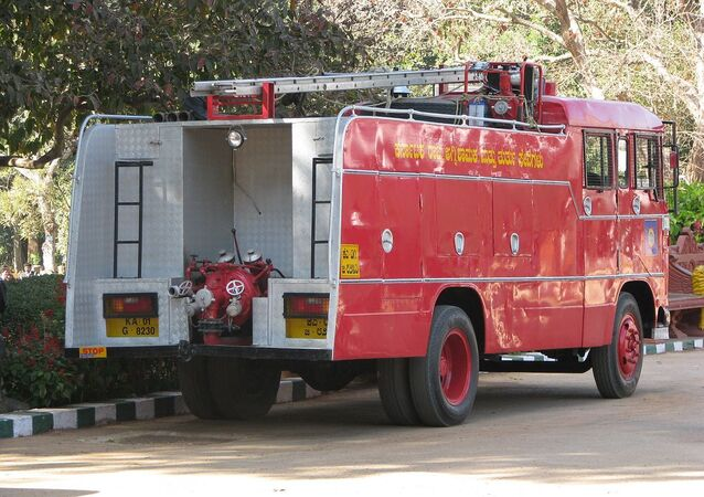 Indian Fire Engine.