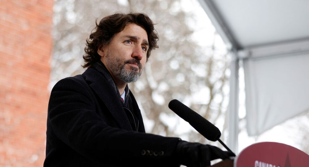 Canada's Prime Minister Justin Trudeau attends a news conference at Rideau Cottage, as efforts continue to help slow the spread of the coronavirus disease (COVID-19), in Ottawa, Ontario, Canada January 22, 2021