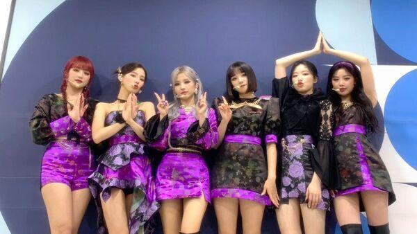 K-Pop Girl Band (G)I-DLE Shows Cold Feelings in New MV 'HWAA' - Sputnik International