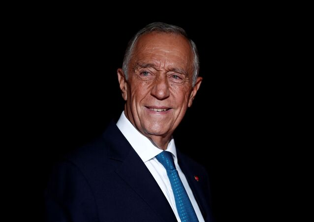 Portugal's President Marcelo Rebelo de Sousa arrives to attend a visit and a dinner at the Orsay Museum on the eve of the commemoration ceremony for Armistice Day, 100 years after the end of the First World War, in Paris, France, November 10, 2018