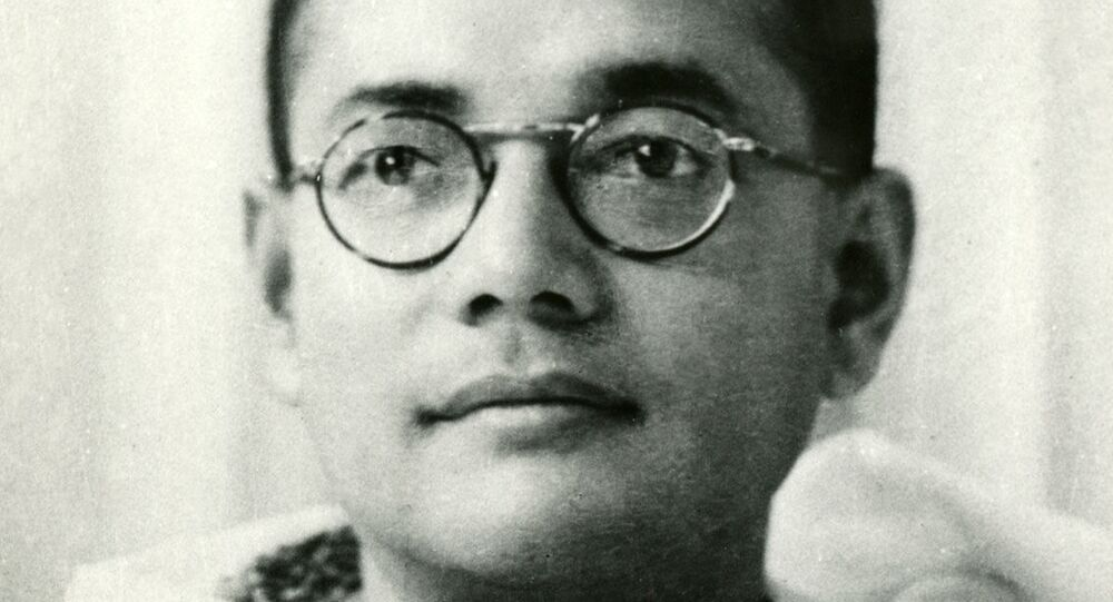 A photo of Subhas Chandra Bose of the young Netaji Subhas Chandra Bose fight for the India freedom.