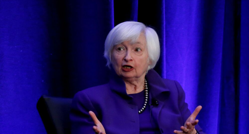 Yellen makes history as first female Treasury chief