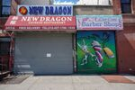 A Chinese restaurant and barber shop in Harlem are closed, as retail sales suffer record drop during the outbreak of the coronavirus disease (COVID-19) in New York City, New York, U.S., April 15, 2020