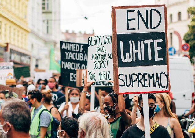 End White Supremacy.