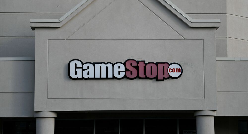 A GameStop store is photographed in Austin, TX, U.S., March 26, 2018.