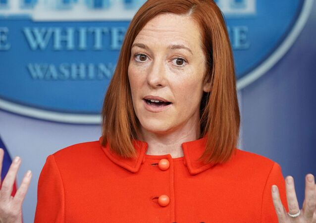 White House Press Secretary Jen Psaki holds a press briefing at the White House in Washington, U.S., January 26, 2021