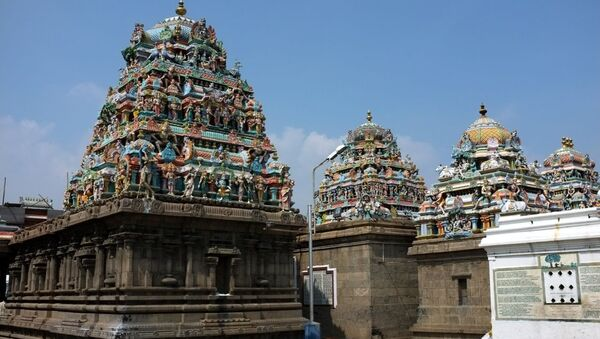 Kapaleeswarar Temple - Sputnik International