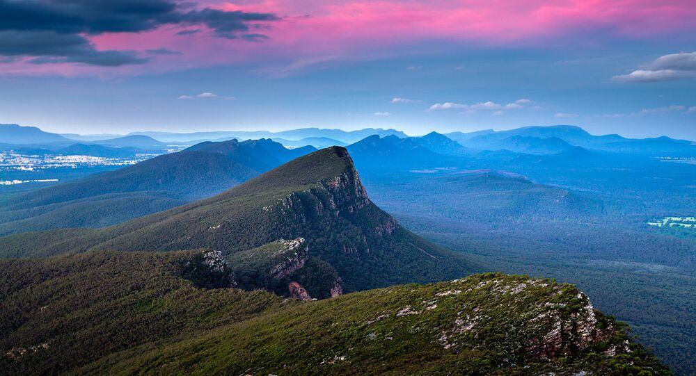 Grampians National Park, just North of Dunkeld, Victoria