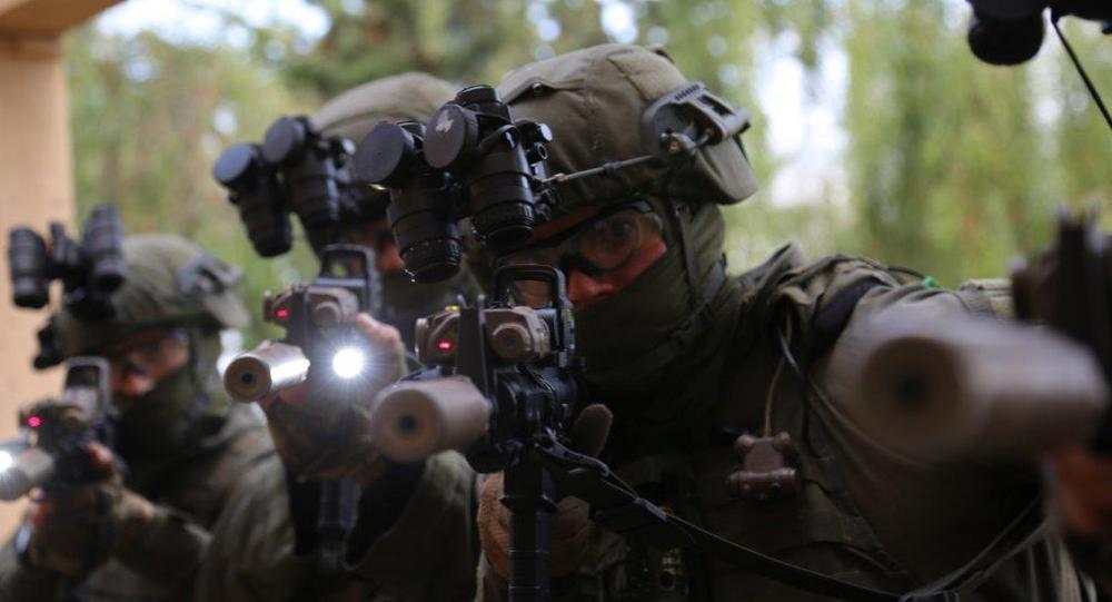 IDF Depth Corps personnel during training in Crete.