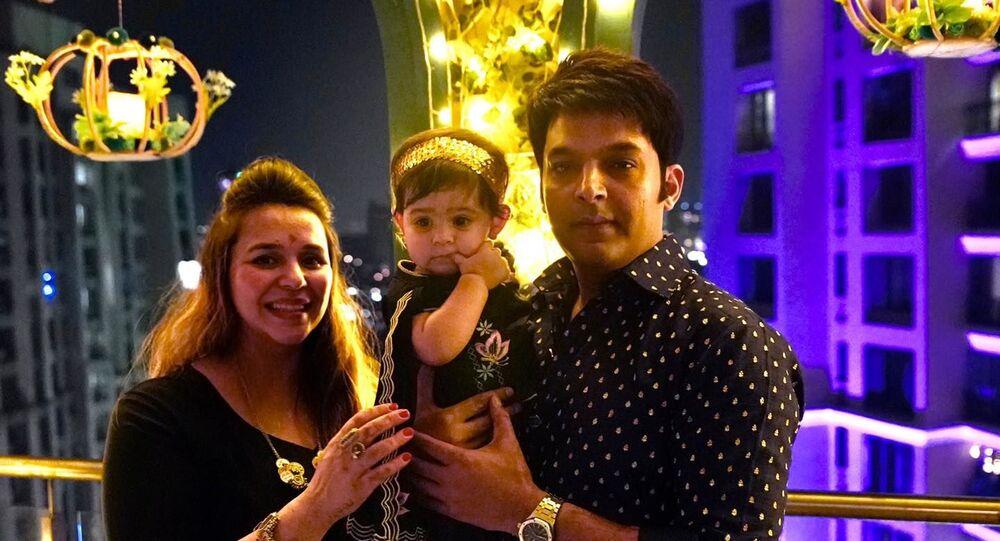 Kapil Sharma with family