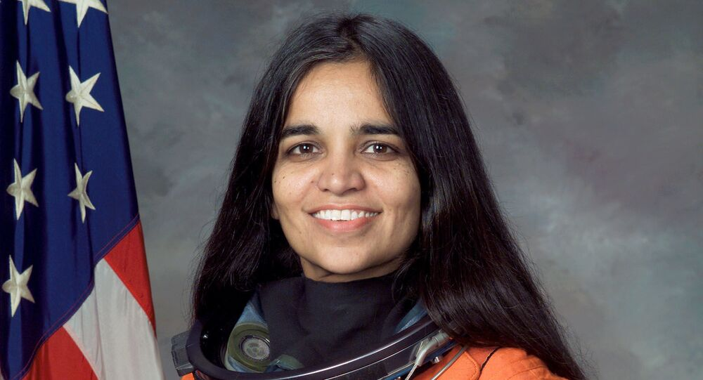 FILE - This undated file photo provided by NASA shows astronaut Kalpana Chawla