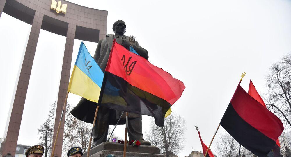Nationalist marches in Ukraine
