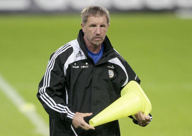 Odisha FC head coach Stuart Baxter