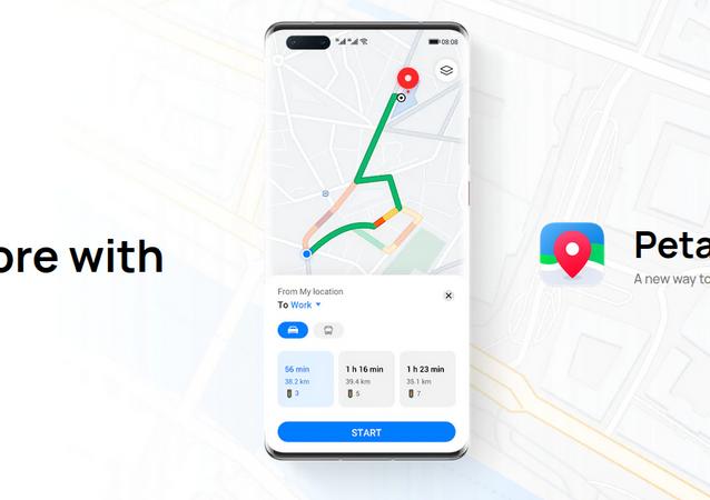 Huawei Petal Maps