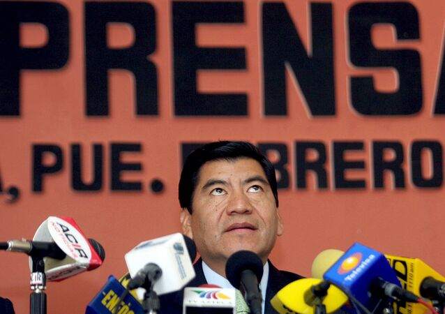 The former governor of the Mexican state of Puebla, Mario Marin Torres, arrested on charges of torture in February, 2021