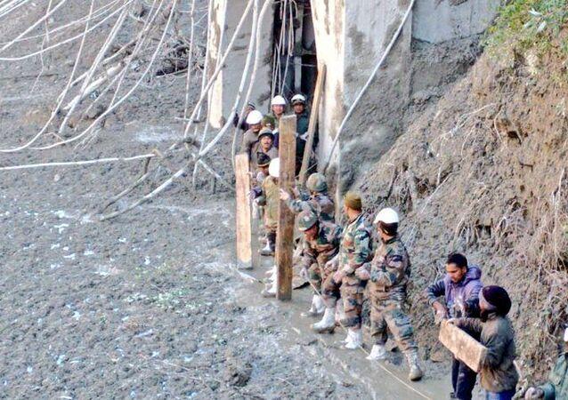 Nanda Devi Glacier Broke in India's Uttarakhand
