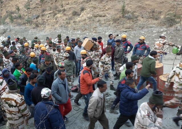 Indo-Tibetan Border Police Rescue 16 People Trapped in Tunnel