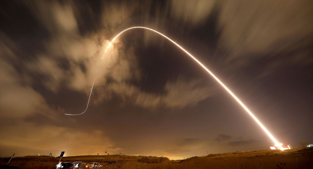 he Iron Dome anti-missile system fires an interceptor missile as rockets are launched from Gaza towards Israel near the southern city of Sderot, Israel August 9, 2018.