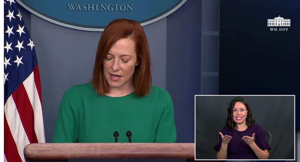 01/25/21: Press Briefing by Press Secretary Jen Psaki with Heather Mewshaw as ASL interpreter