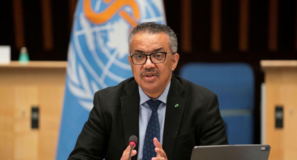 Tedros Adhanom Ghebreyesus, Director General of the World Health Organization (WHO)