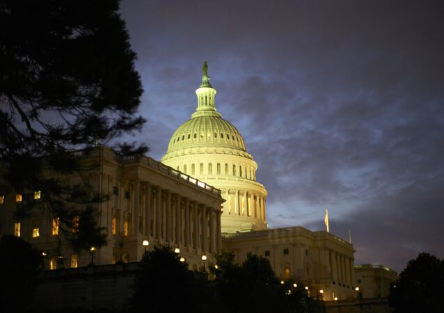 The United States Capitol building, west facade, at dawn is seen in this general view , Monday, Jan. 27, 2020, in Washington, DC