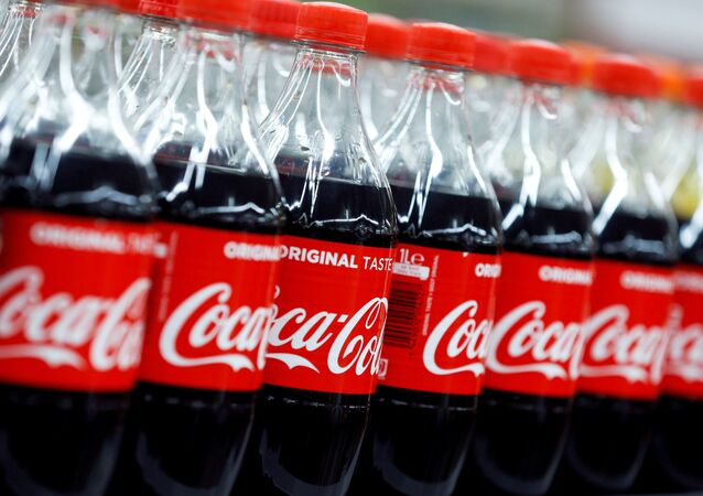Bottles of Coca-Cola are seen at a Carrefour Hypermarket store in Montreuil, near Paris, France, February 5, 2018
