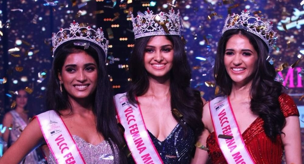Top 3 Winners at VLCC Femina Miss India 2020 co-powered by Sephora & Roposo- Manasa Varanasi, VLCC Femina Miss India World 2020, Manika Sheokand, VLCC Femina Miss Grand India 2020 and Manya Singh, VLCC Femina Miss India 2020 Runner-up.