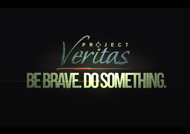 Screenshot of Project Veritas logo