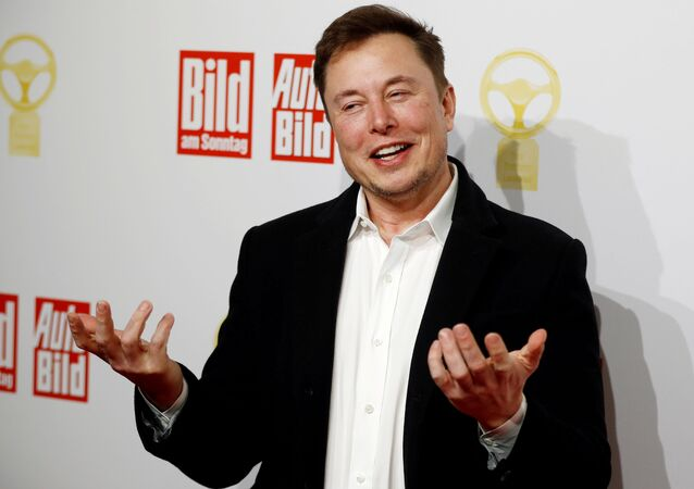 SpaceX owner and Tesla CEO Elon Musk arrives on the red carpet for the automobile awards Das Goldene Lenkrad (The golden steering wheel) given by a German newspaper in Berlin, Germany, November 12, 2019