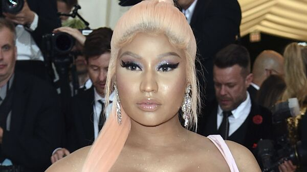 Nicki Minaj attends The Metropolitan Museum of Art's Costume Institute benefit gala in New York, in this Monday, May 6, 2019, file photo. The 64-year-old father of rapper Nicki Minaj has died after being struck by a hit-and-run driver in New York, police said. Robert Maraj was walking along a road in Mineola on Long Island at 6:15 p.m. Friday when he was hit by a car that kept going, Nassau County police said. Maraj was taken to a hospital, where he was pronounced dead Saturday, Feb. 13, 2021.  - Sputnik International